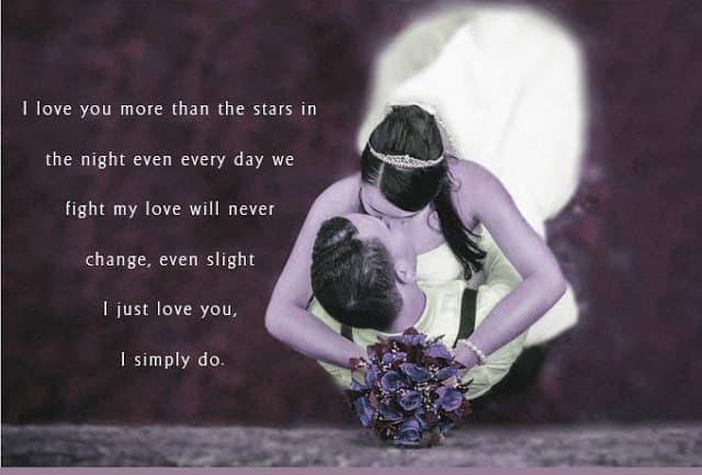 My True Feelings for You Poems