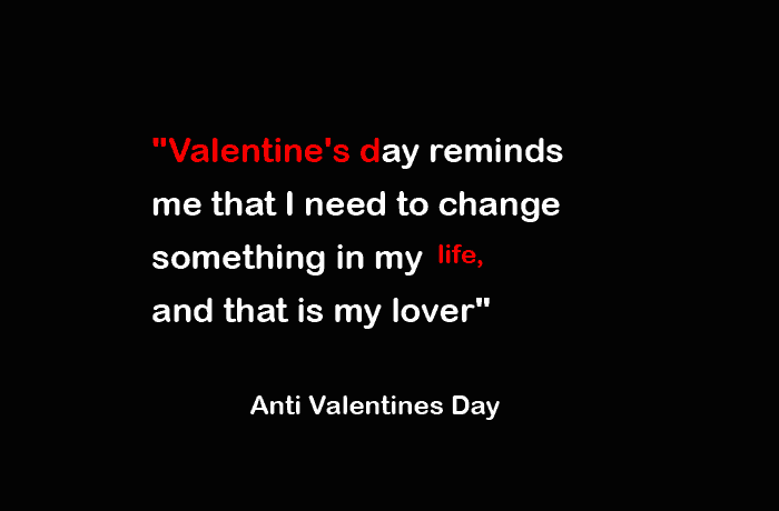 Top 20 sarcastic Anti Valentines day Quotes, Cards and ...