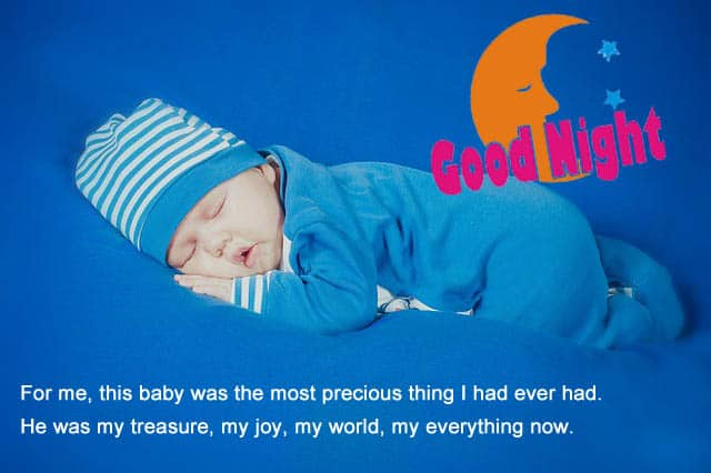 good night images of babys of Baby