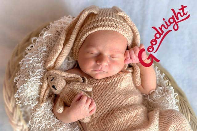good night images of baby of Baby