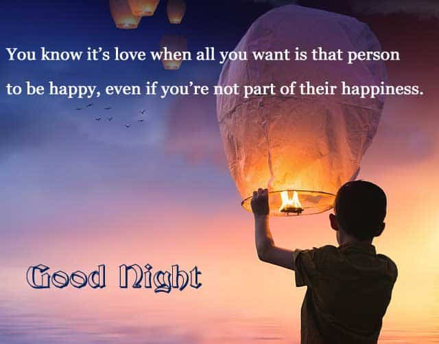Best Good Night Images with Love Quotes