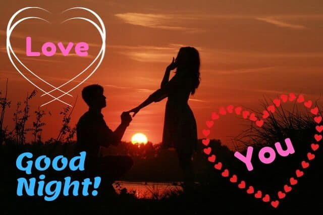 Good Night Images in Love