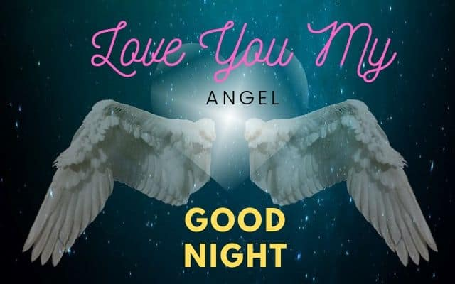 Beautiful Good Night angel Images Download