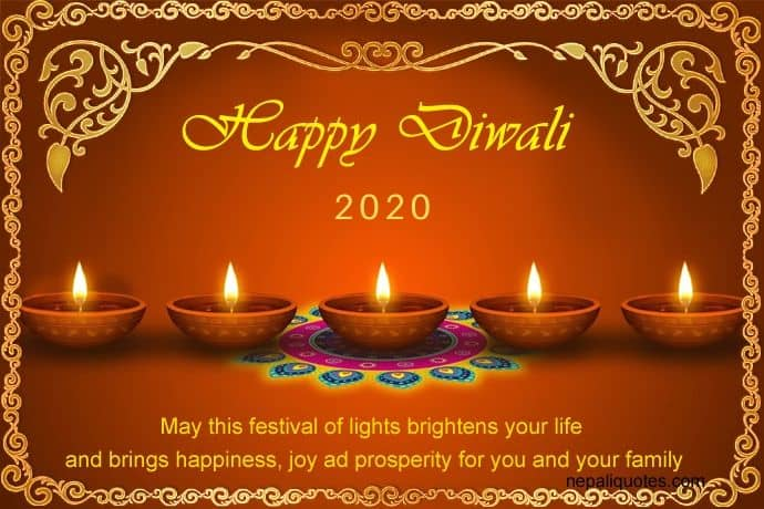 happy diwali images with quotes 2020