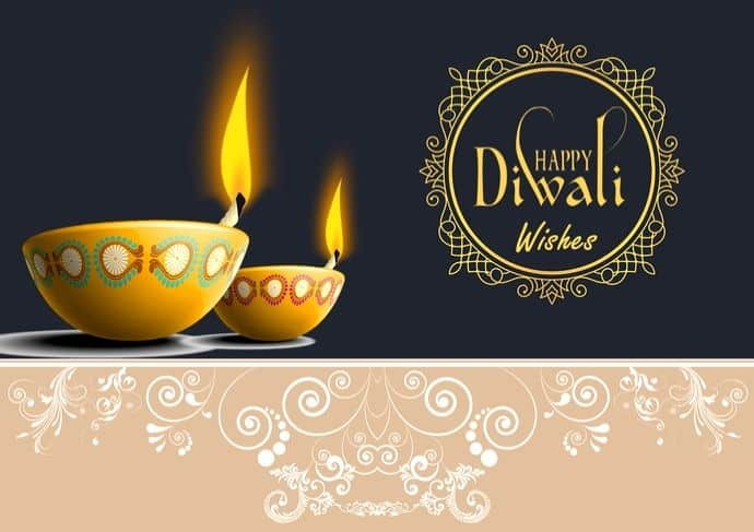 40+ New Happy Diwali Wishes 2020 Messages and Diwali Greetings