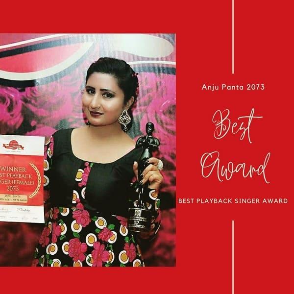 Anju Panta Best Music Award