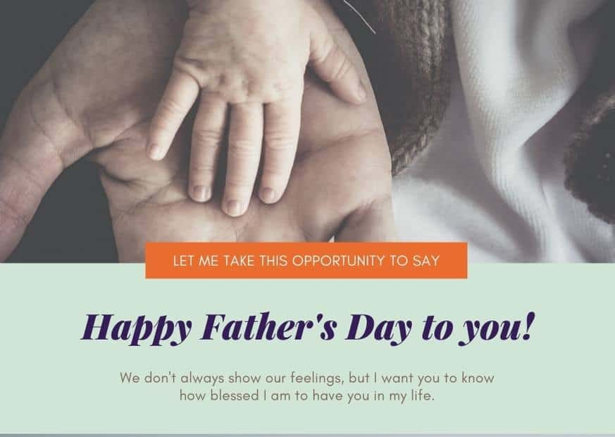 Happy fathers day in Nepal