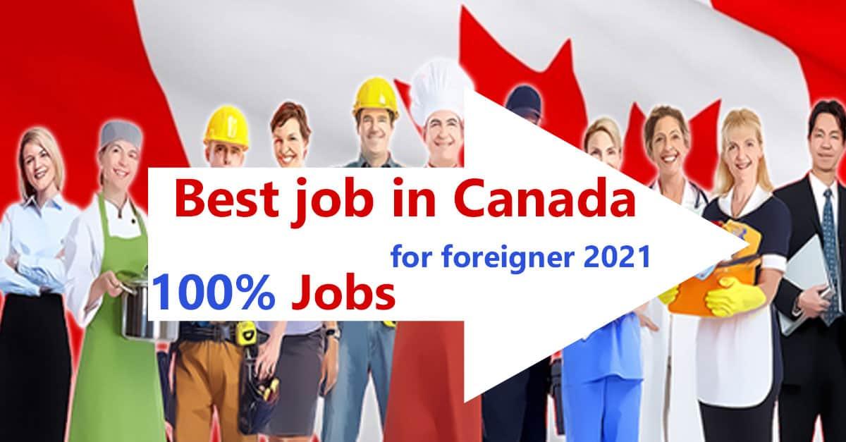 best-job-in-canada-2021